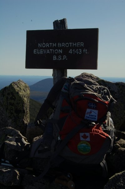 North Brother elevation